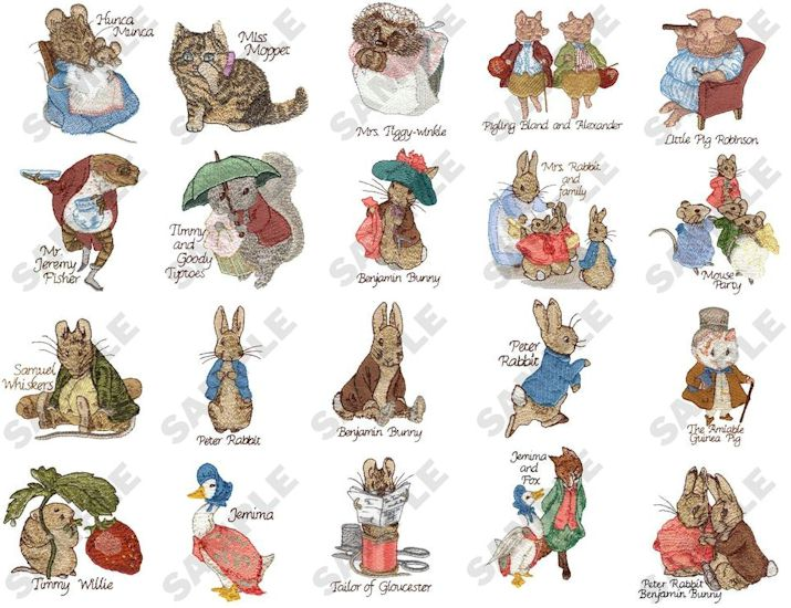 beatrix potter characters · mrsamparo.wordpress.com