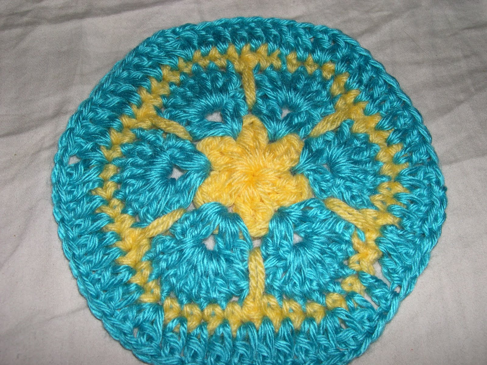 African Flower Hexagon Crochet Pattern Free : Crochet Creations By Lilly: AFRICAN FLOWER HEXAGONS