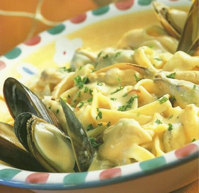 Egg Pasta With Saffron, Shrimp, And Peas Recipes — Dishmaps