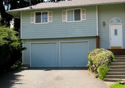 garage doors, midcentury modern, architecture, northwest