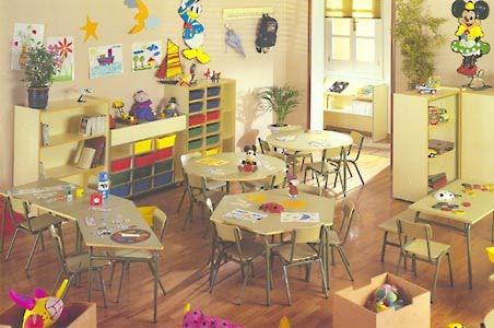 Muebleria infantil lasmireyitas mobiliario para colegios for Muebles de guarderia