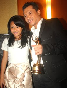 which is shown by aurel anang hermansyah eldest daughter received