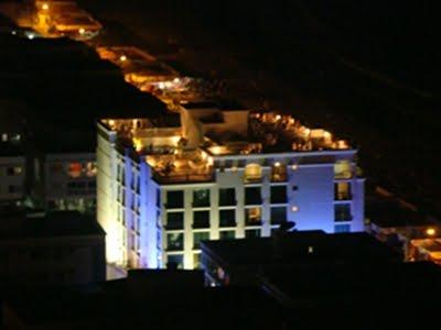 Imagem do Loft à noite