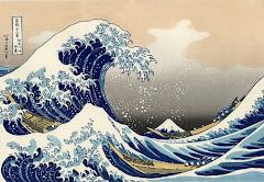 la gran ola de hiroshige