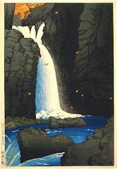 cascada de hiroshige