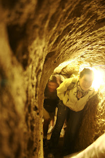 Cappadocia cave tunnel