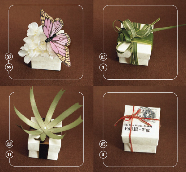 Gift Box Ideas For Wedding : Gift Packaging Ideas: Butterfly Boxes