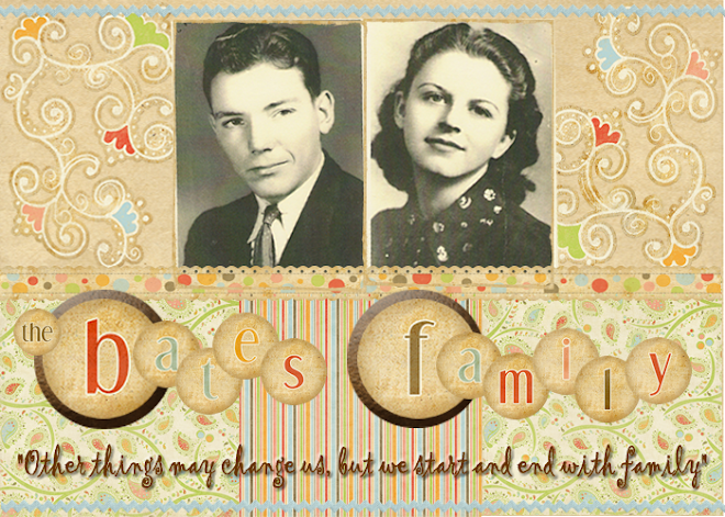The Ivan and Elsie Bates Family