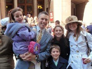 Paul Thomas Rock & family
