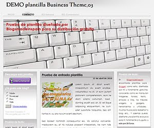 Descargar plantilla Business Theme 03