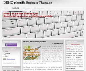 Descargar plantilla Business Theme 03