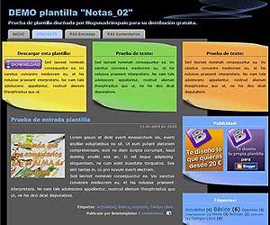 Descargar plantilla Notas_02