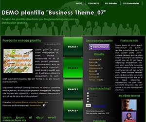 Descargar plantilla Business Theme_07