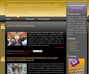 Descargar plantilla Web Style_03