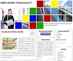 Descargar plantilla Professional_01