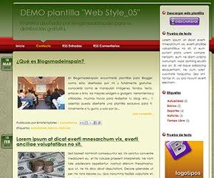 Descargar plantilla Web Style_05