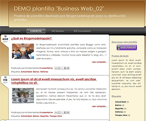 Descargar plantilla Business Web_02