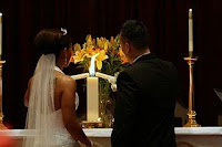 unity+candle Cerimonial de Casamento Estilo Americano