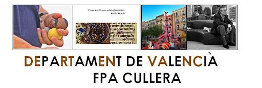 DEPARTAMENT DE VALENCIÀ