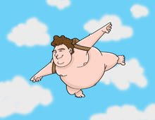 The Flying Fat Guy