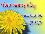 My Sunny Blog Award