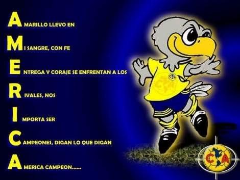 El Club De Futbol America Es Un Equipo De Futbol Profesional De Mexico