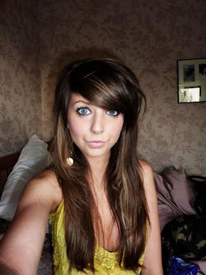 Zoella Hair Fringe
