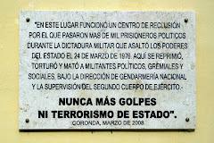 El terrorismo de estado continua