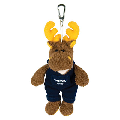 Elk Key Ring Volvo