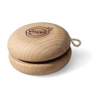 Wood Yo-Yo Volvo