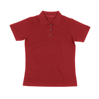Women's Classic Polo, Red Volvo