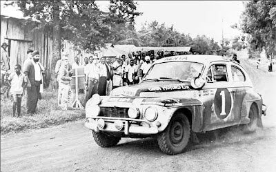 First small Volvo car 1953