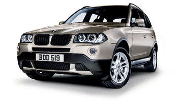 BMW X Range Cars