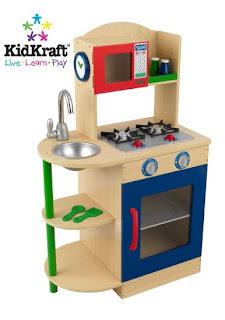 boys wooden kitchen