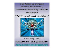 "Premio ""El Humoristech de Plata"""