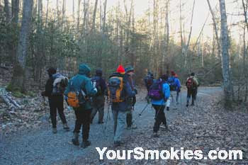Smokies Hiking Group in Elkmont