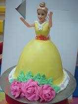 Barbie cake (steamed buttercream)