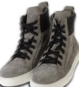 Les Hommes High-Top Sneakers
