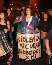 BATUPERLITA en Marcha contra fallo del Tribunal Constitucional
