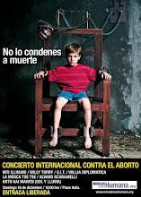 """LA REACCIÓN OPUS DEI $HILENA YA HABÍA COMENZADO MESES ATRÁS CON UN """"RECITAL"""" CONTRA EL ABORTO"""