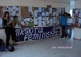 LAS MEMOS, EN EL ENCUENTRO FEMINISTA AUTÓNOMO EN MÉXICO D.F. 2009