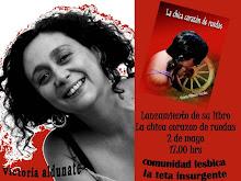 """""""LA CHICA CORAZÓN DE RUEDAS"""" de Victoria Aldunate Morales"""