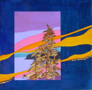 """Twilight Point"" mixed-media @"