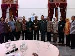 Ramah Tamah di Pendopo Kabupaten
