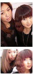 الكورية كوافير نا راي & جيونغ آه.                   Korean hairdresser  Na Rae &  Jeong Ah.