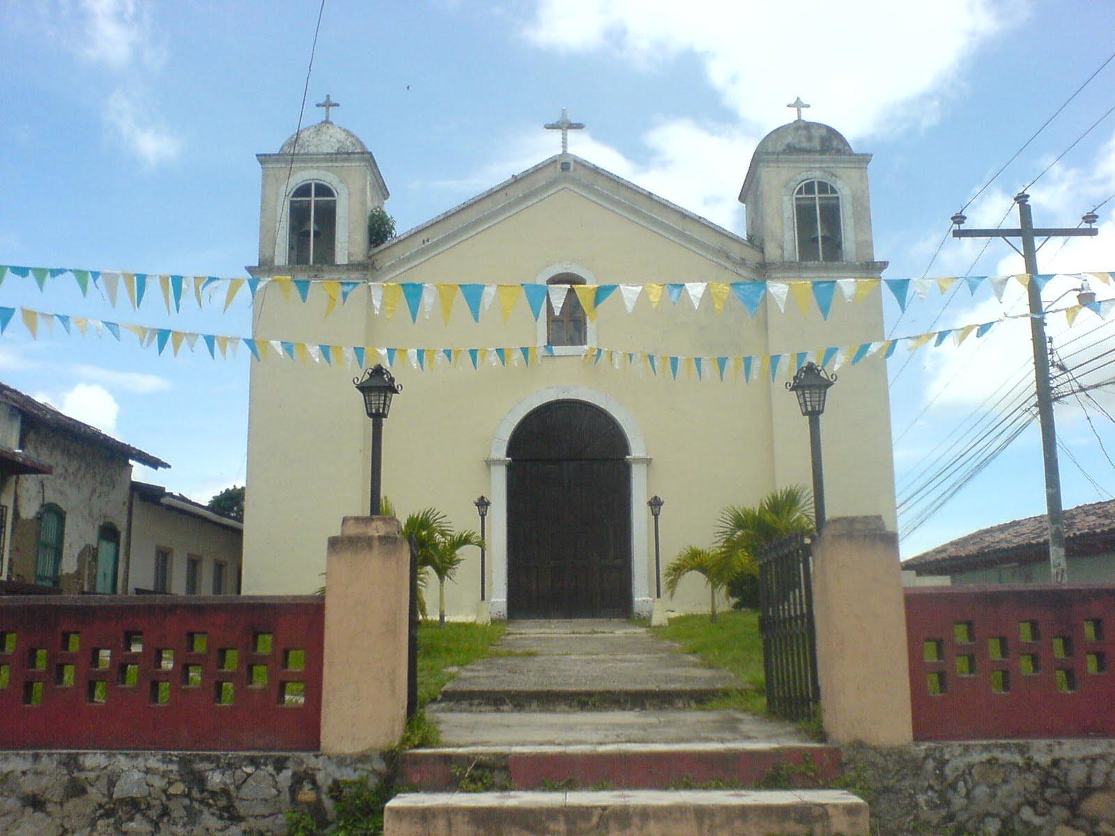 Iglesia Catolica San Antonio,en honor al santo patron de la comunidad.