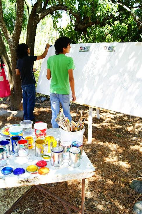 Educacion Ambiental por medio del Arte