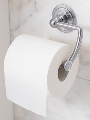 Decorganizing Wednesday: Toilet Paper