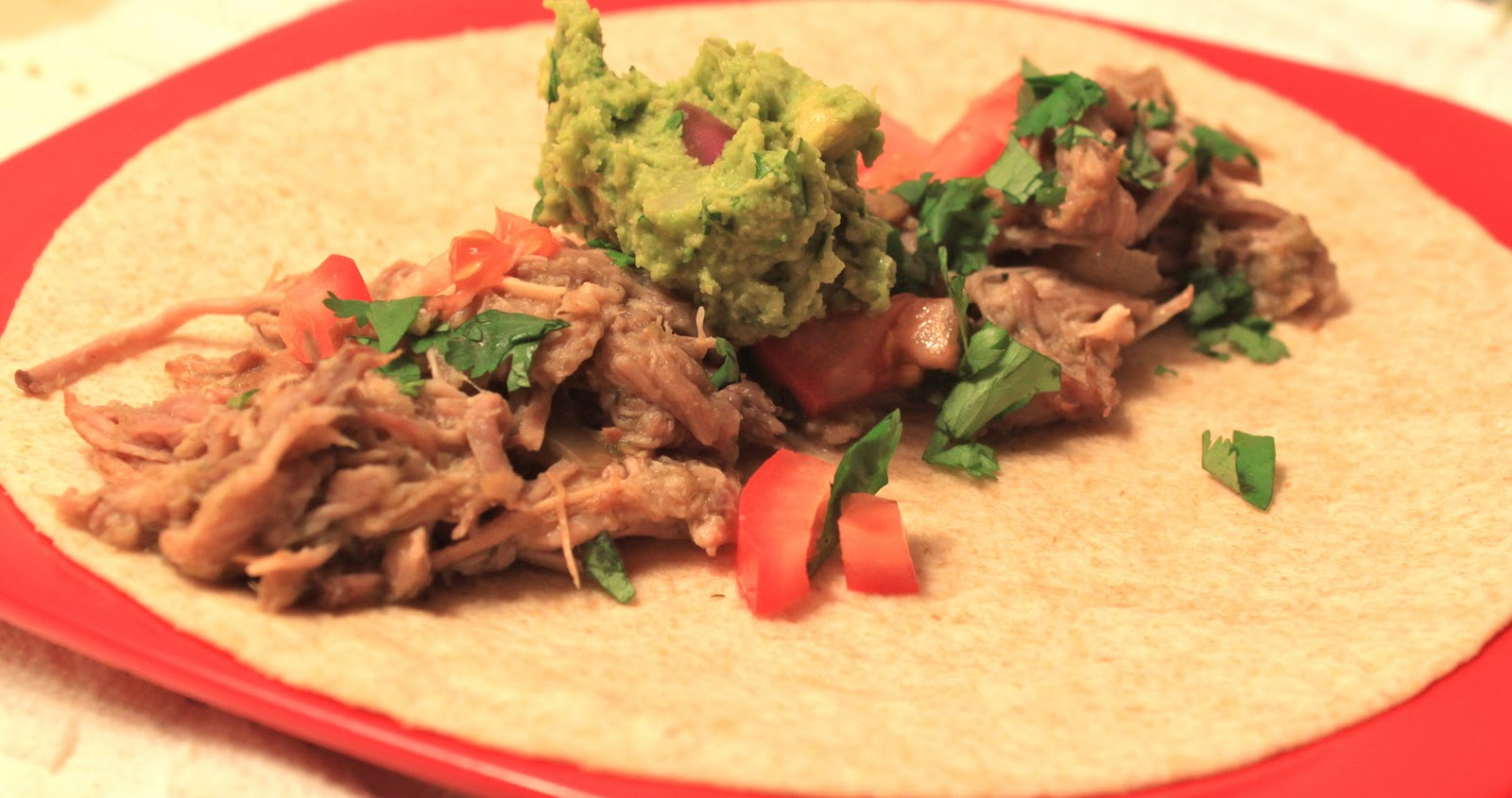 crock pot week: salsa verde pork carnitas - greens & chocolate