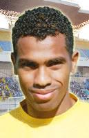 اللاعب محمد حمص محرز هدف مصر في ايطاليا